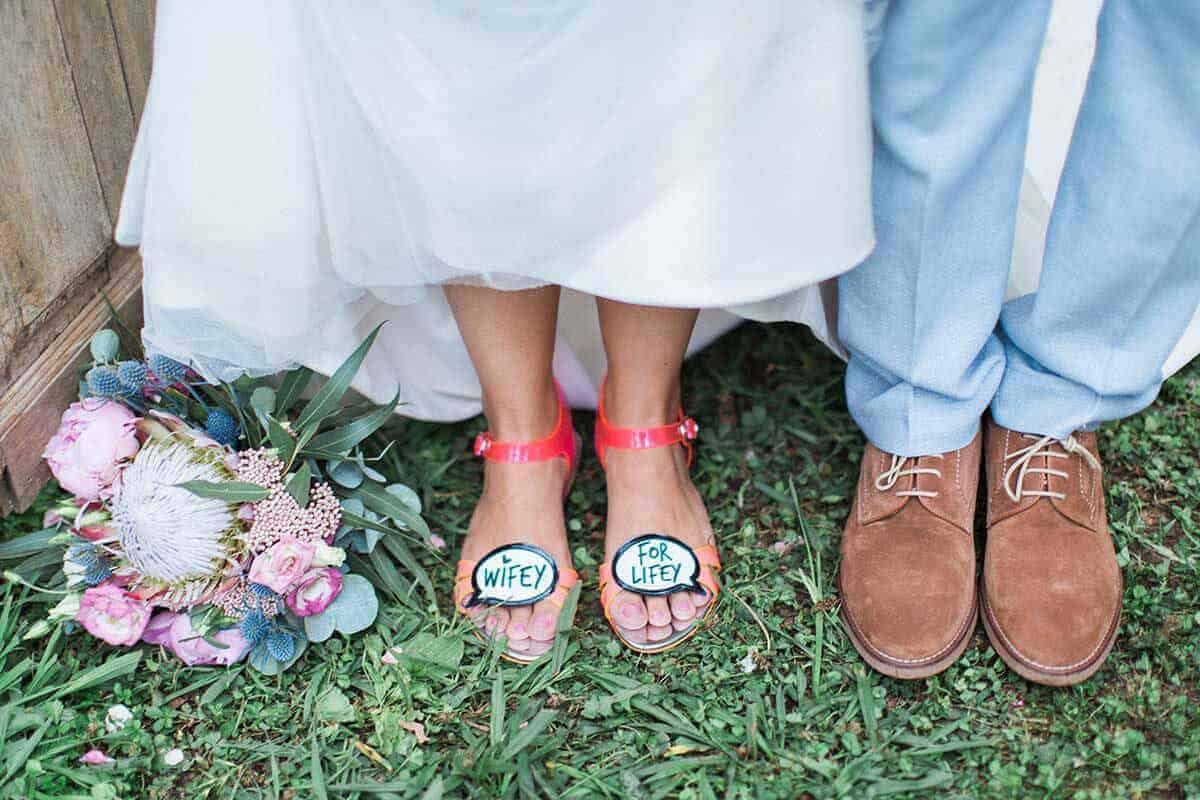 casaments parella Castle Cortal bones