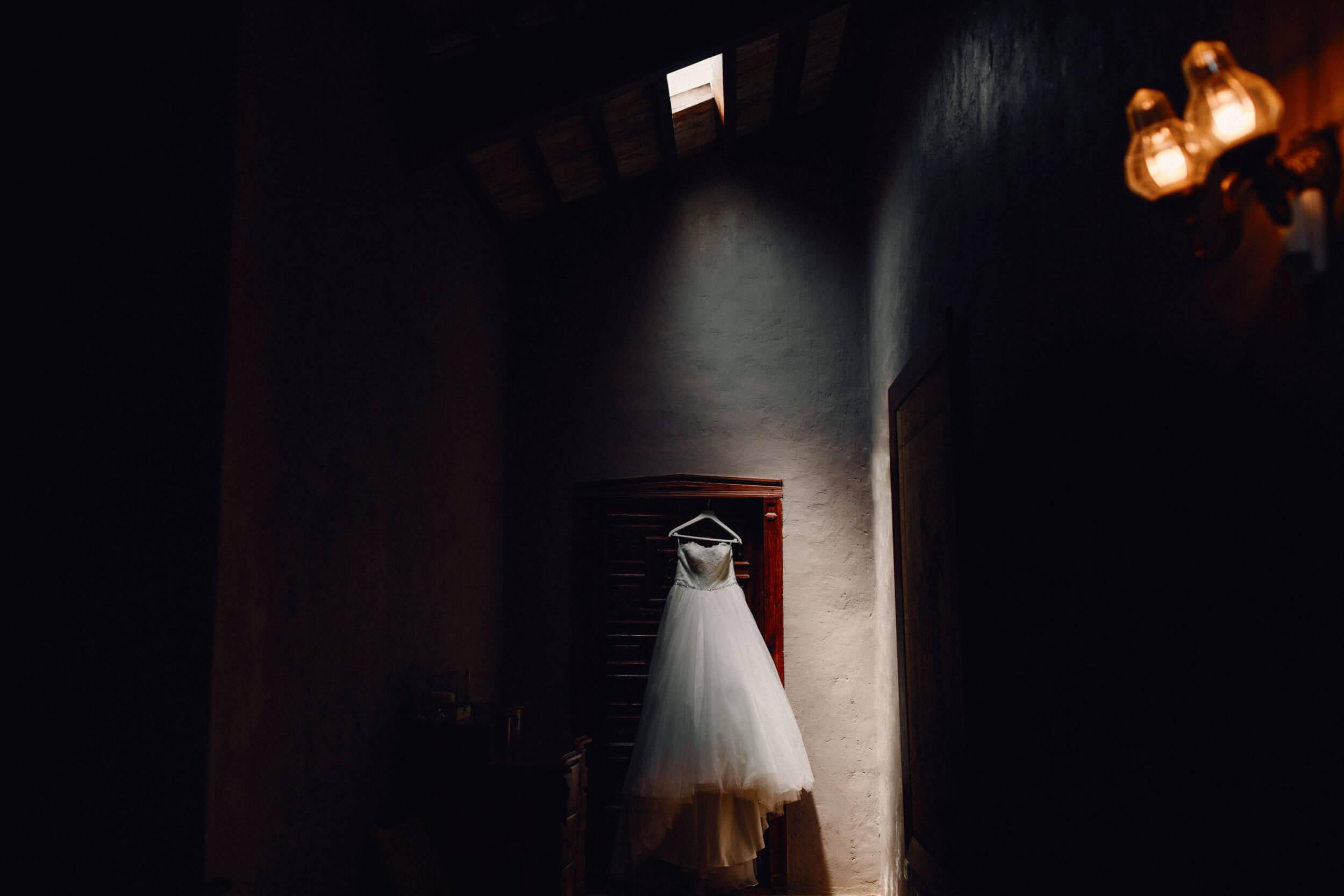 vestido bodas castillo cortal gran