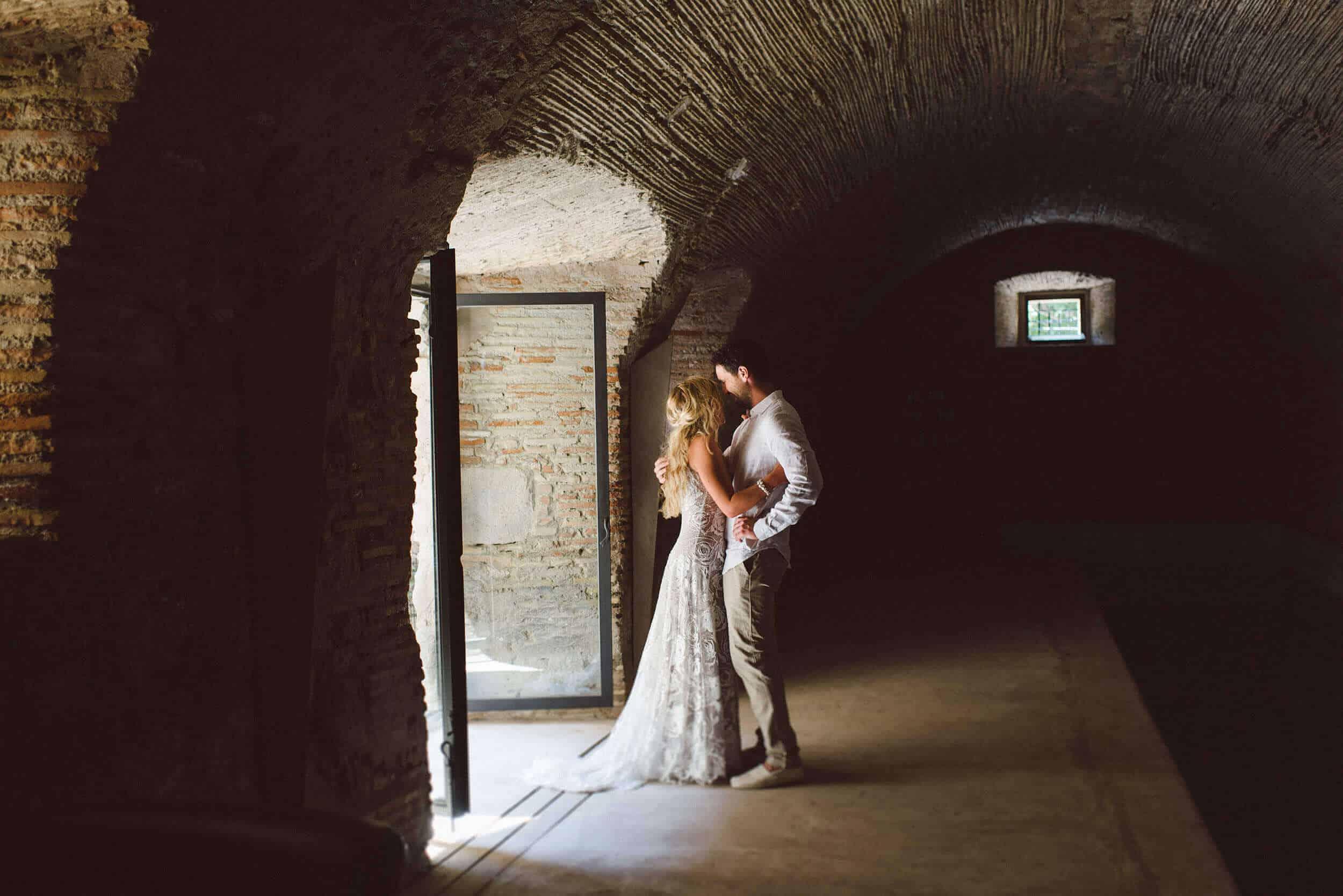 parella Gun pati casaments castell Cortal gran