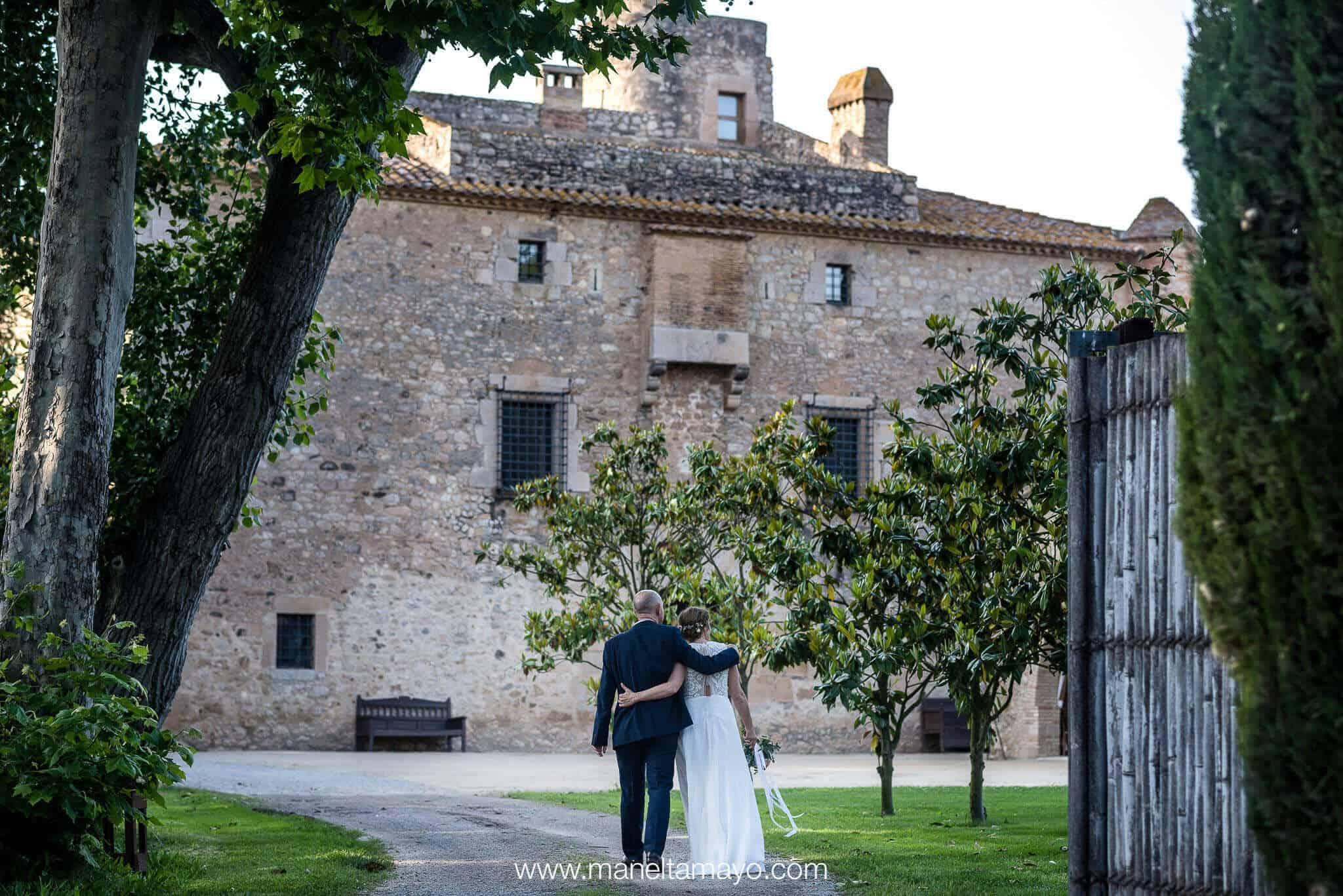 pareja bodas castillo cortal gran