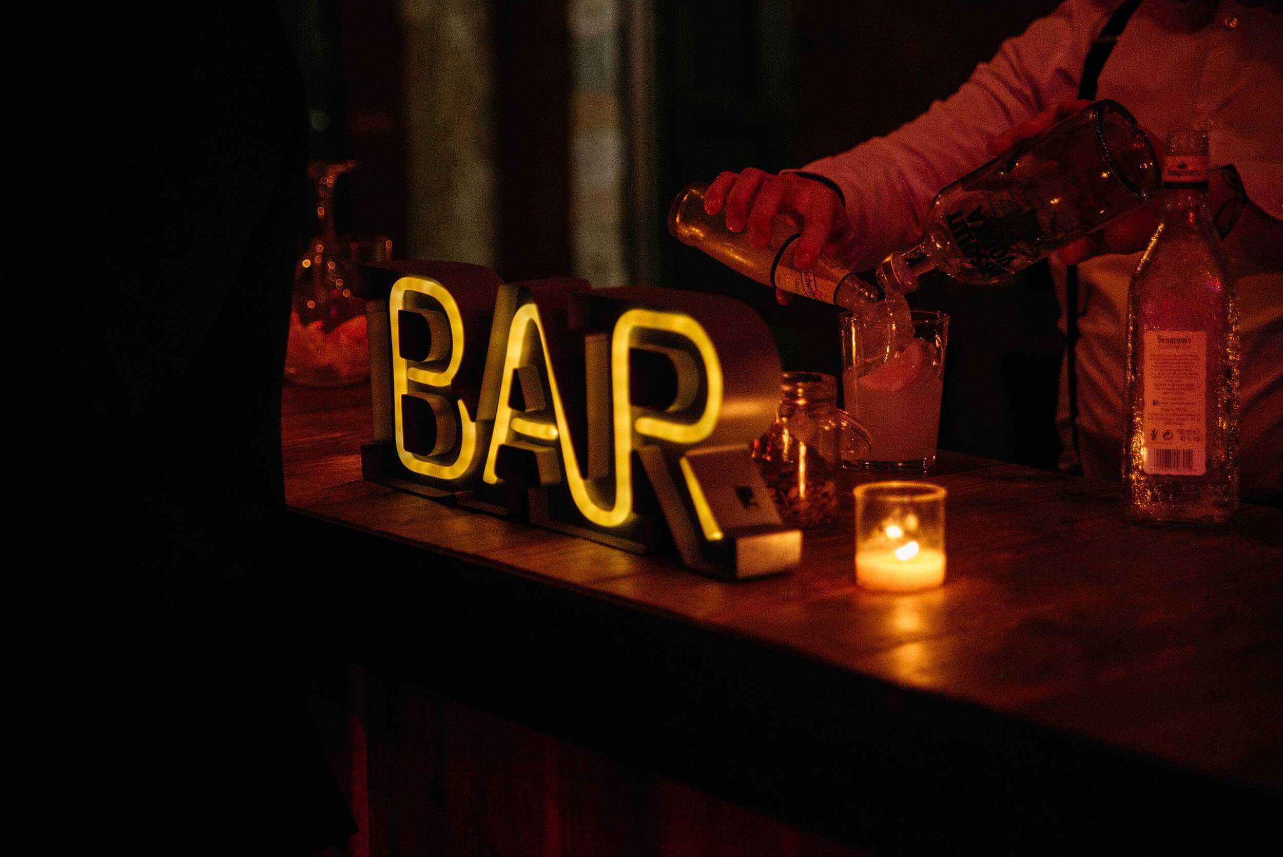 Club Bar casaments castell Cortal gran