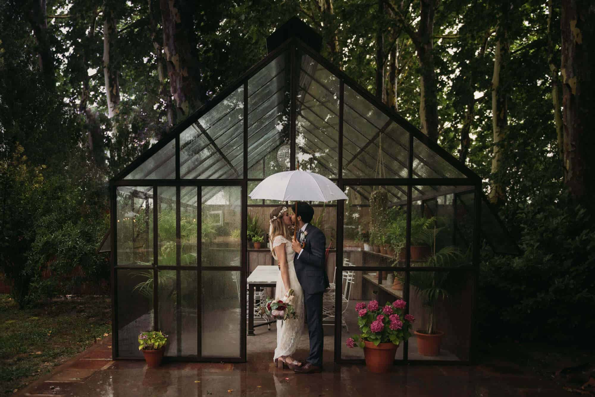 couple greenhouse weddings castle cortal great