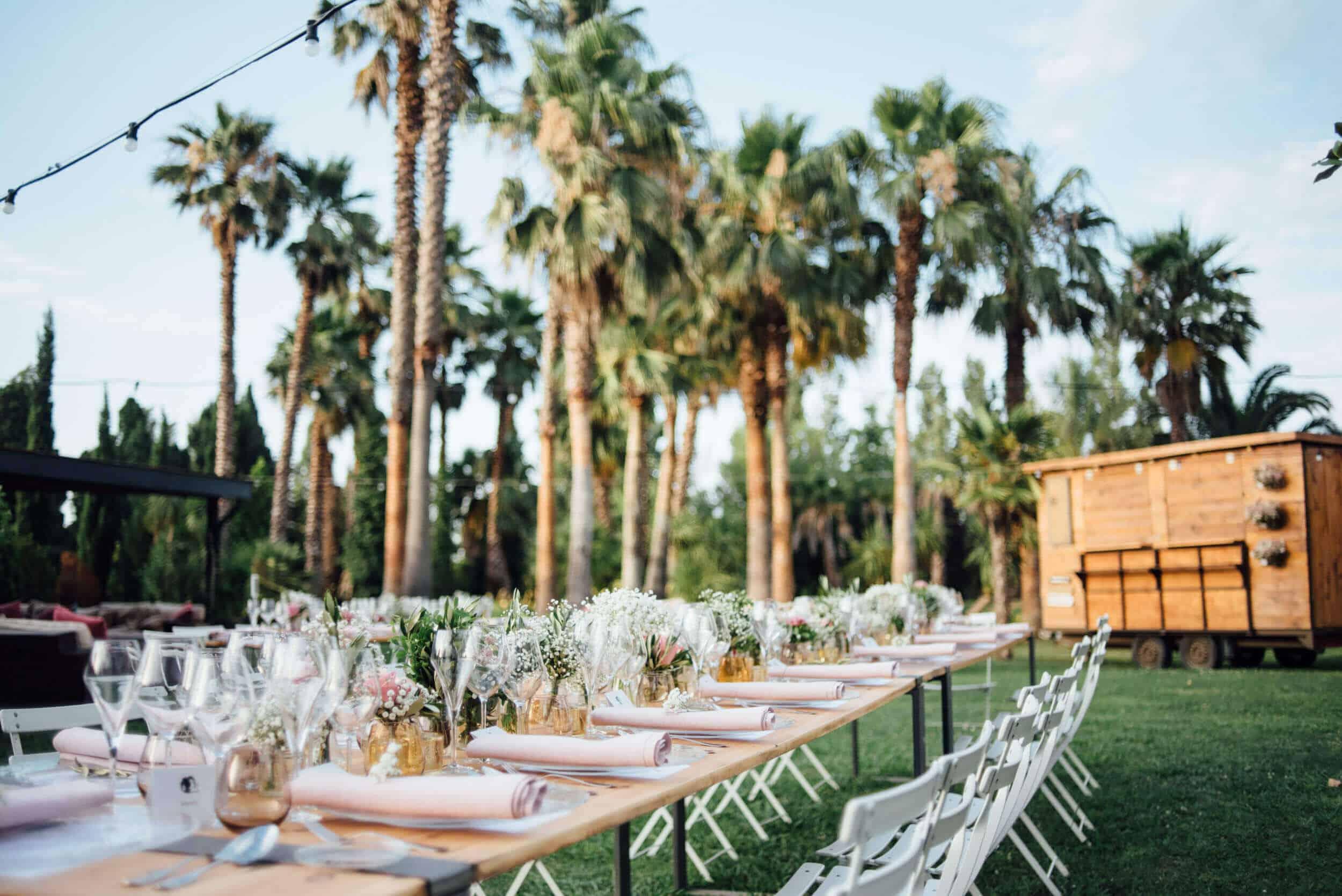 banquete jardín bodas castillo cortal gran