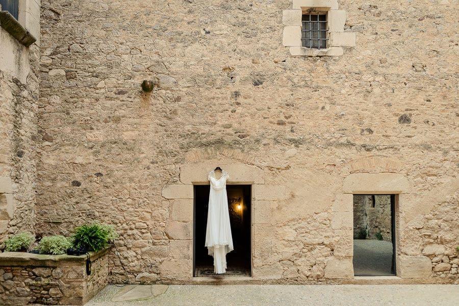 vestit de núvia castell Cortal gran