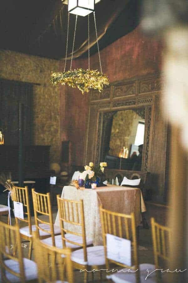 cerimònia del casament del castell de la gran Cortal
