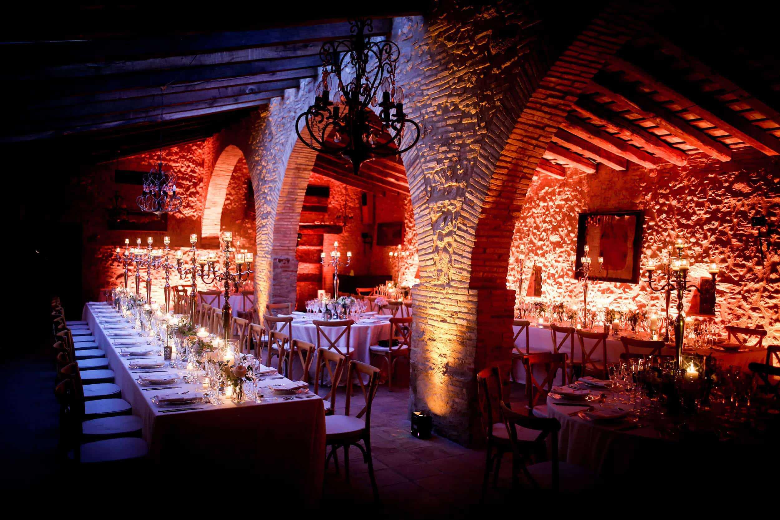 gran castell Cortal sala de noces arqueolo