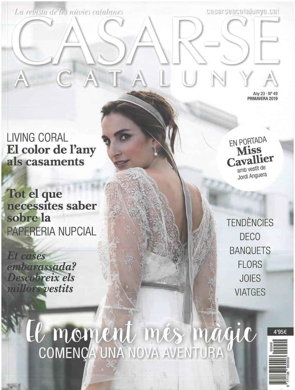 revista casar-se a catalunya bodas castillo cortal gran