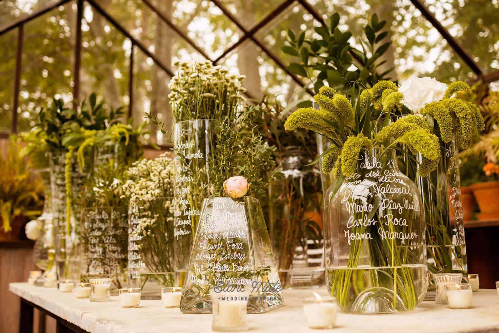 decoración plantas bodas castillo cortal gran
