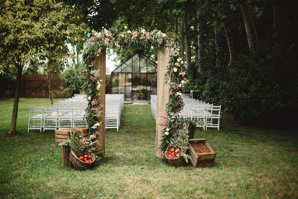 ceremonia invernadero bodas castillo cortal gran