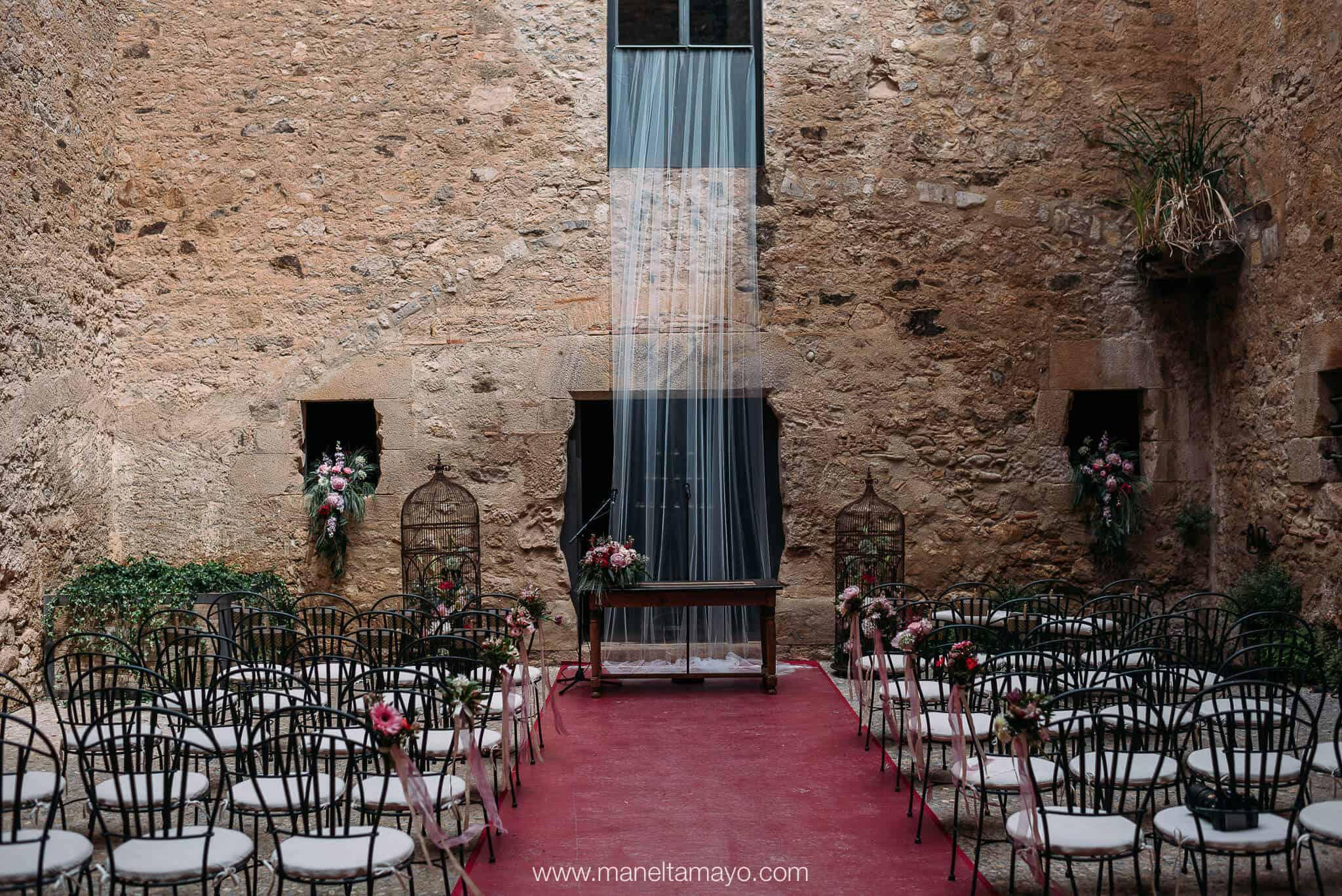 cerimònia gunyard casament castell Cortal gran