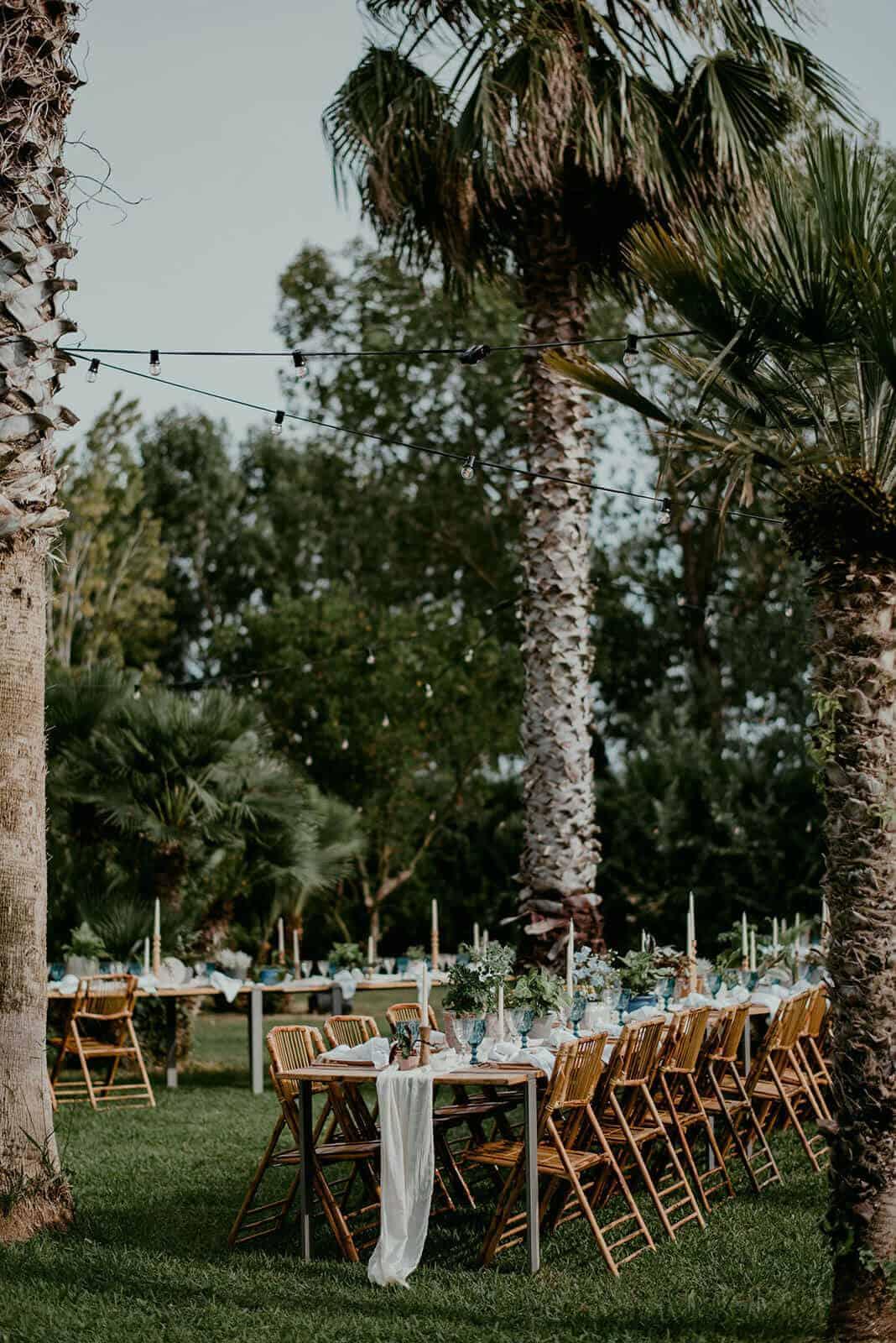 casaments jardí banquet castell Cortal gran