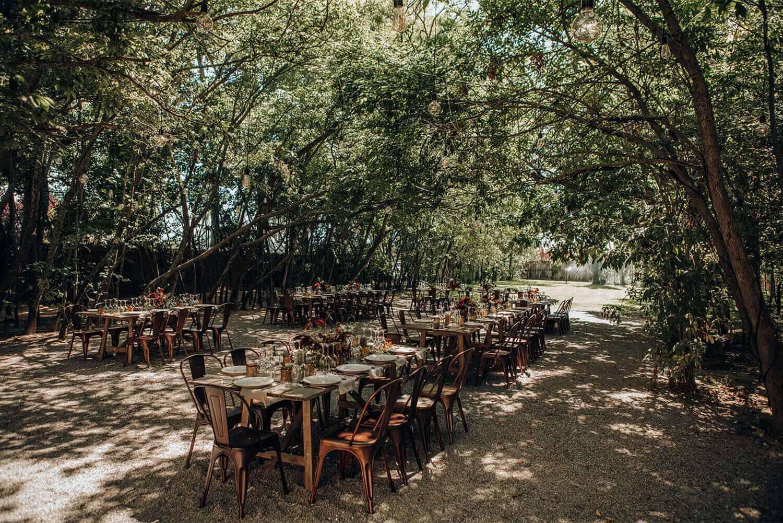 banquete bosque bodas castillo cortal gran