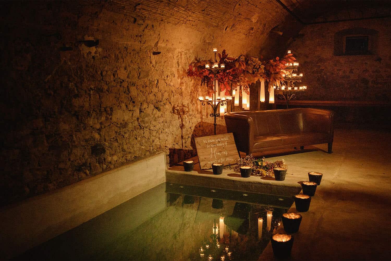 baño termal bodas castillo cortal gran