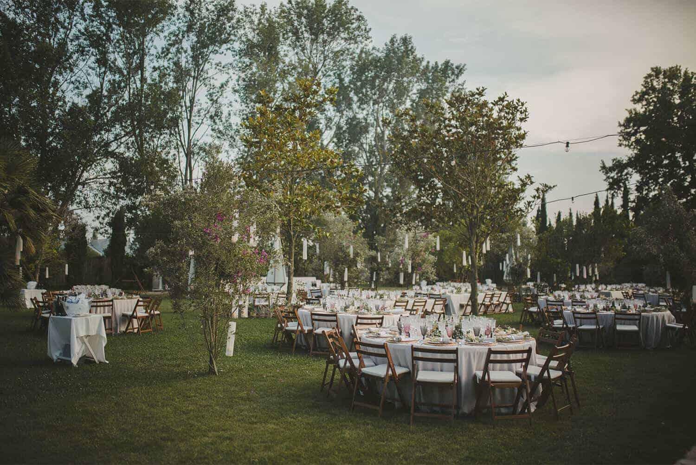 jardín banquete bodas castillo cortal gran
