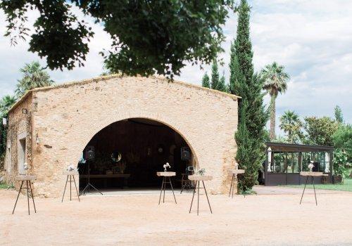 arco principal bodas castillo cortal gran