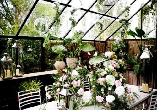 decoración invernadero bodas castillo cortal gran