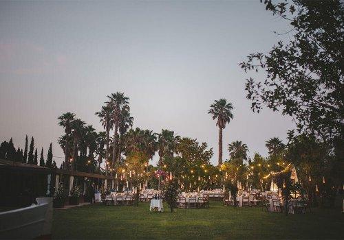 jardín gran porche bodas castillo cortal gran