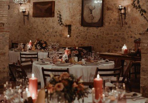 salón de arcos bodas castillo cortal gran